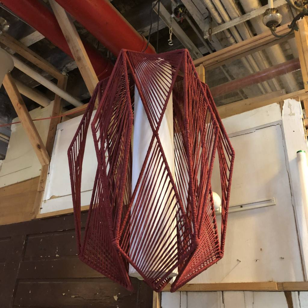 Red Hand Woven Light #GRE