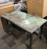 Iron Shop Office Table #YEL