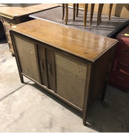 Antique Credenza/Record Player #YEL