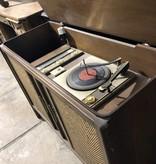 Antique Credenza/Record Player #YEL