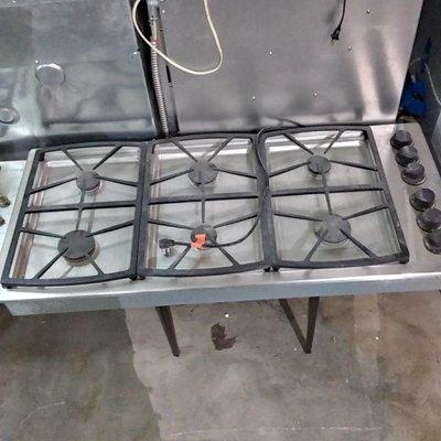 Dacor 6-Burner 46'' Cooktop#YEL