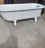 Milky Clawfoot Tub#YEL