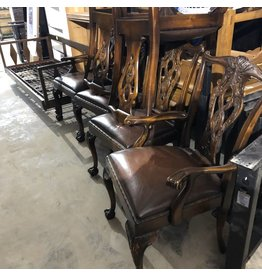 Antique Ball and Clawfoot Dining Chairs #YEL