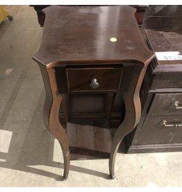 Oak Single Drawer Nightstand #YEL