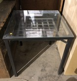 Glasstop Patio Table #YEL