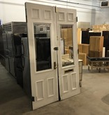Brownstone Entry Doors W/ Glass Centerpiece #BLU