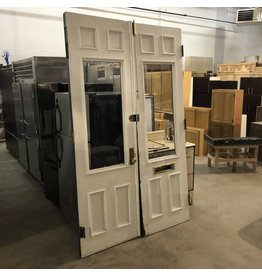 Brownstone Entry Doors W/ Glass Centerpiece #BLU