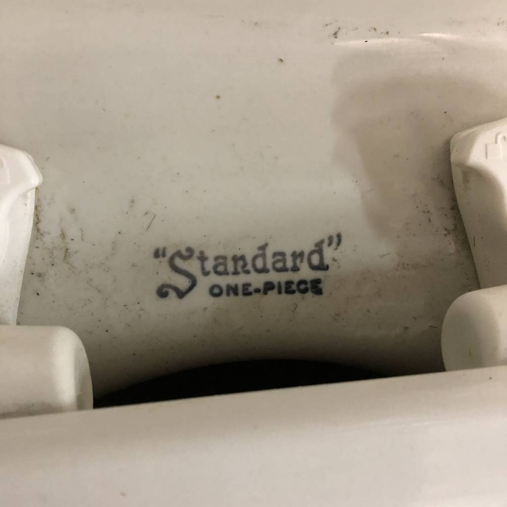 Standard One-Piece Toilet #BLU