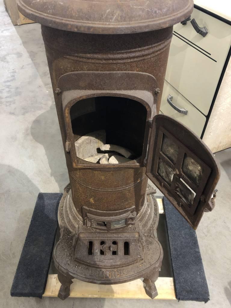 Antique Wood Burner Stove #BLU