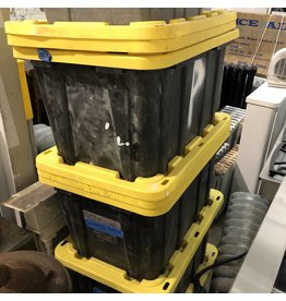 Black And Yellow Storage Bins #BLU