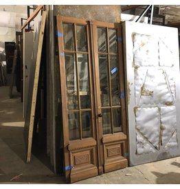 Unifnished Vintage Brownstone Doors #BLU