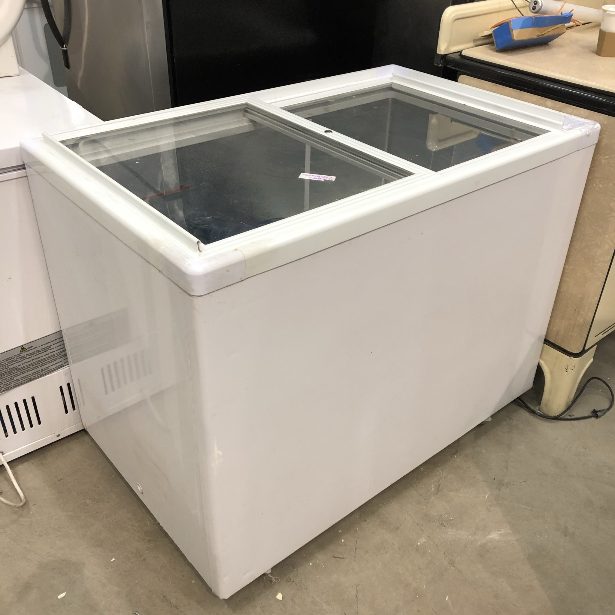 Glass Door Top Deep Freezer #ORA