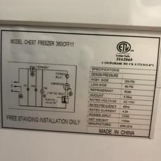 Glass Door Top Deep Freezer #ORA