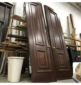 Mahogany Brownstone  Set Doors