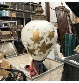 Antique Maple Leaf Pendant Light