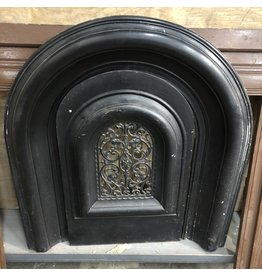 Vintage Black Iron Fire Place Guard
