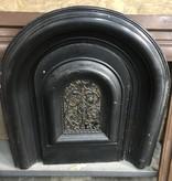 Vintage Black Iron Fire Place Guard