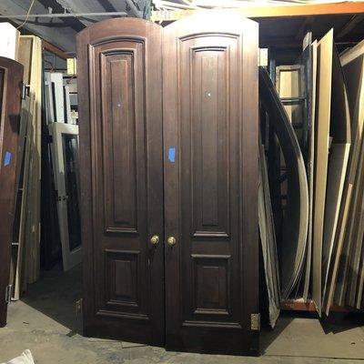 XL Mahogany Doors