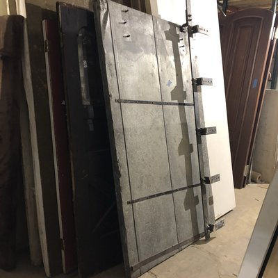 Industrial Sliding Metal Barn Door