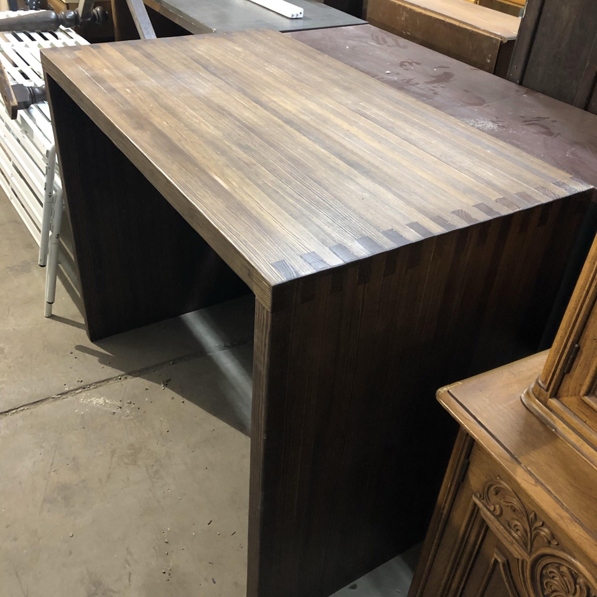 Finished Pine U Desk