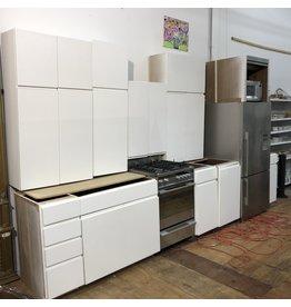 Contemporary Walnut Cabinet Set