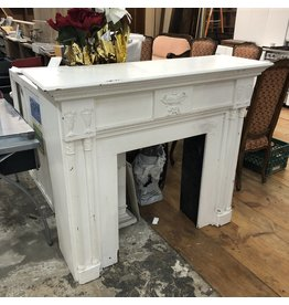 Vintage Blanco Fireplace Mantel