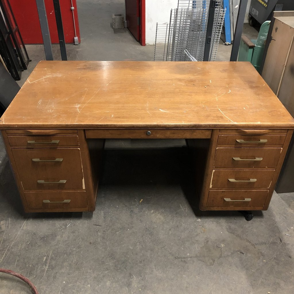 Vintage Teacher's Desk