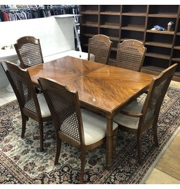 Tiger Oak Dining Table