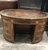 Vintage Secretary Oval Desk