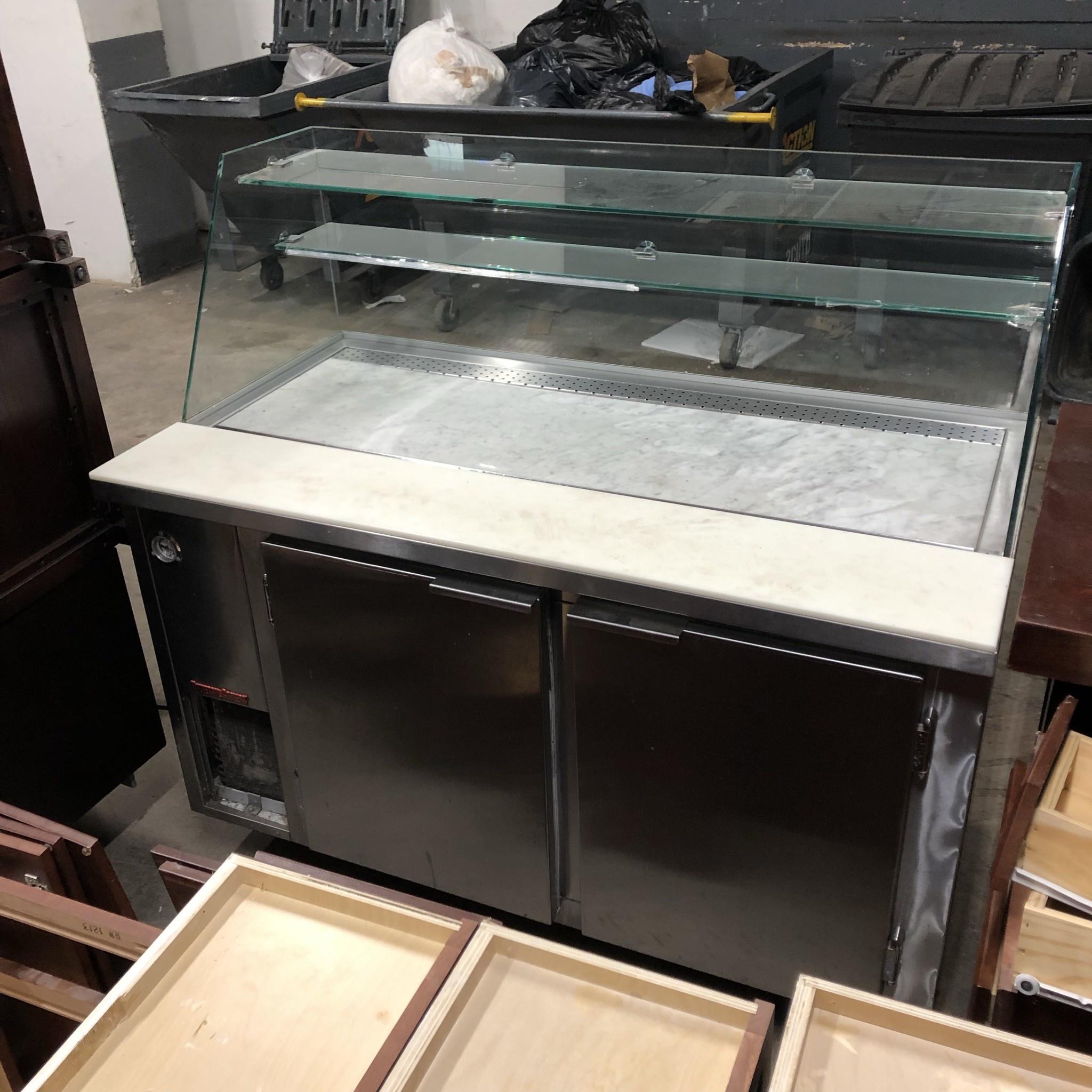 Dual Cooler/Food Display