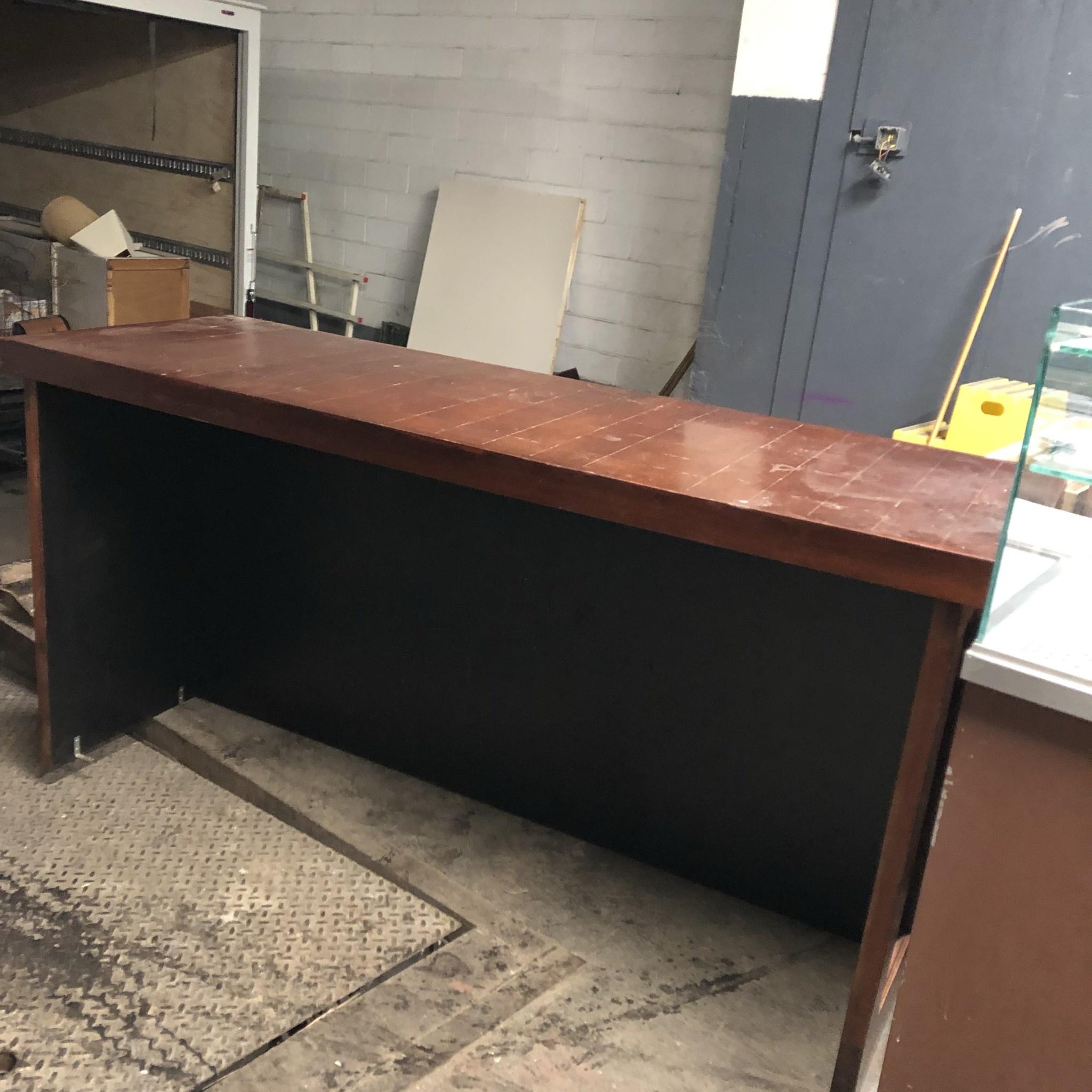 Oak Veneer Bar Top