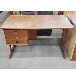 Solid Oak Antique Desk