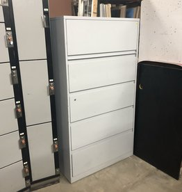 Light Gray File Cabinet