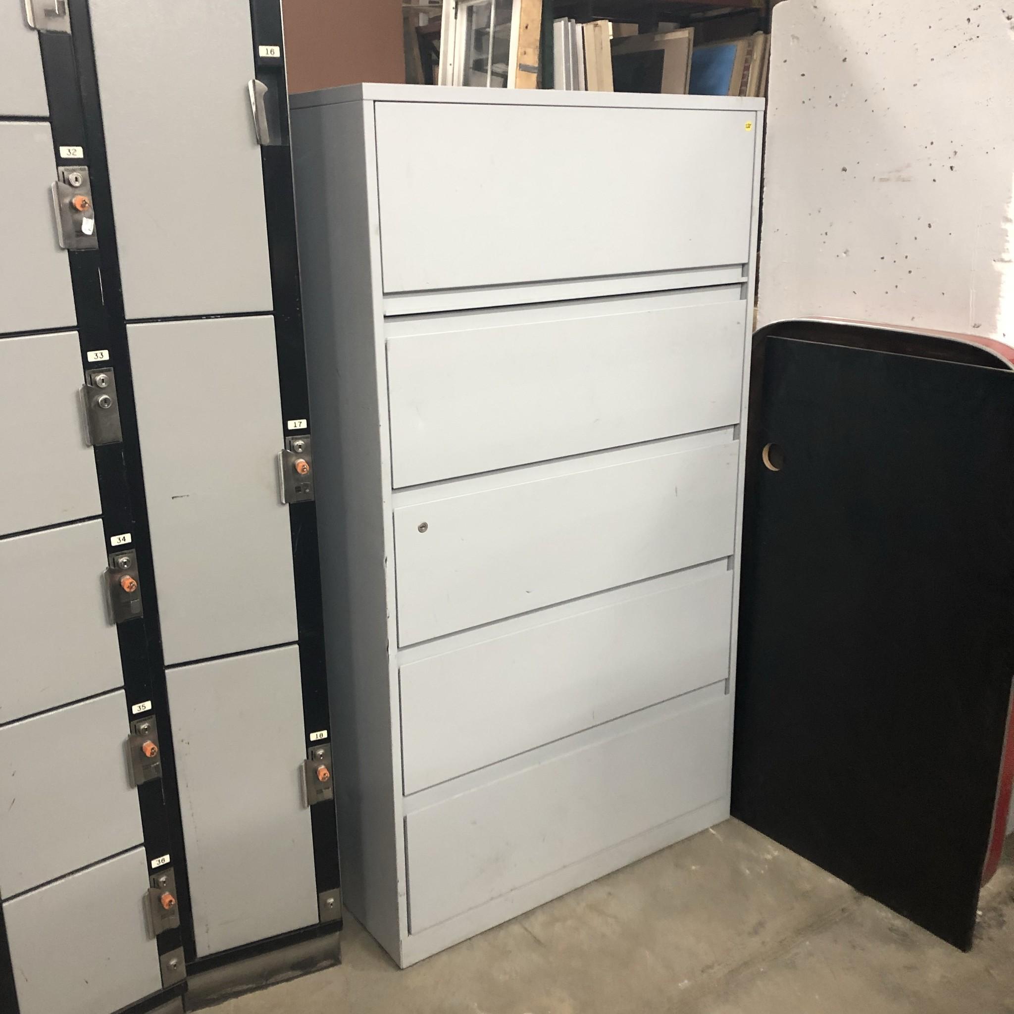 Light Gray File Cabinet Big Reuse