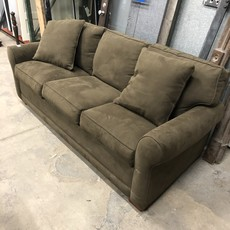 Olive Green Designer Sofa Bed