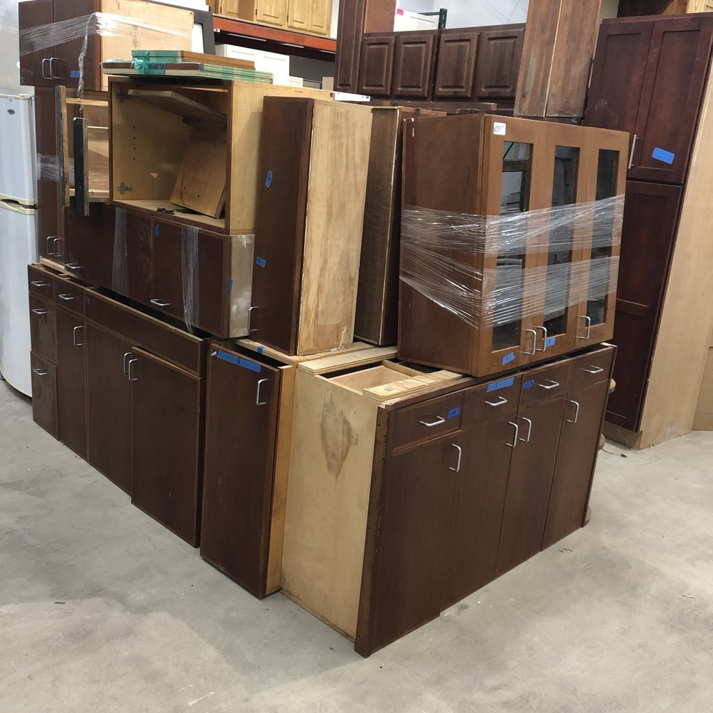 Solid Plywood Cabinet Set