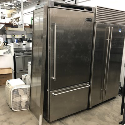 Viking Stainless Steel Refrigerator