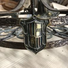 Vintage Iron Chandellier
