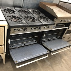 Garland Commercial 6 Burner Range