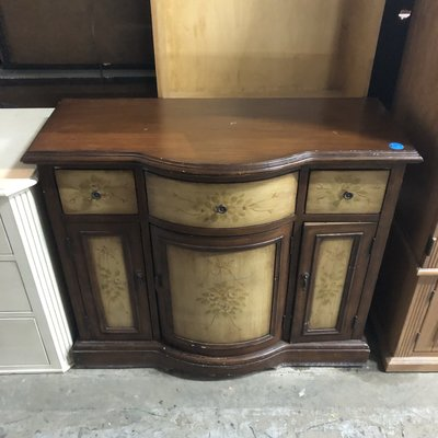 Oak Liquor Cabinet