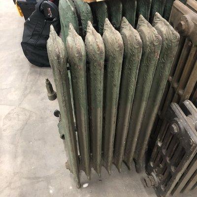 Mint Green Antique Radiator