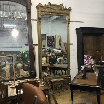 Gold Gothic XL Mirror