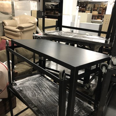 Portable Metal Office Table