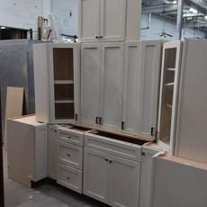 Solid White 10-PC Shaker Kitchen Set