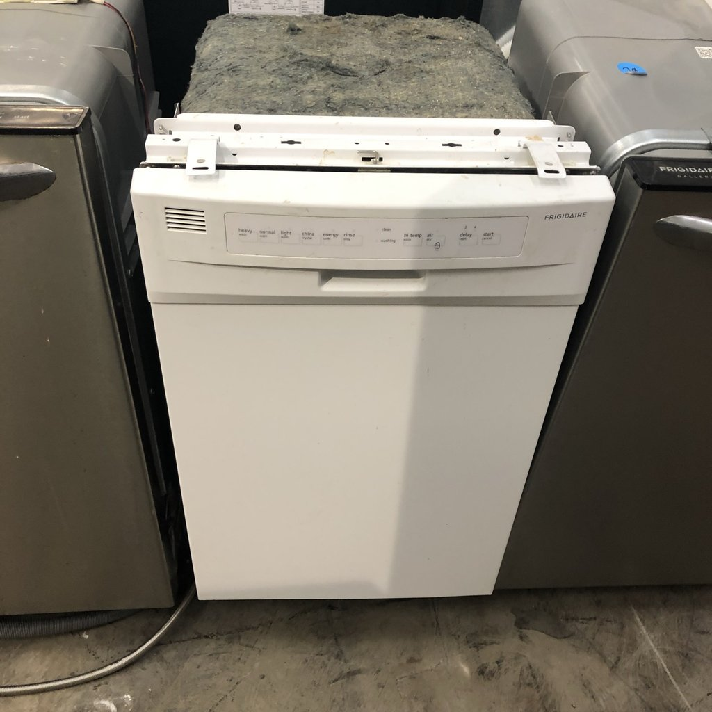 White Frigidaire Dishwasher