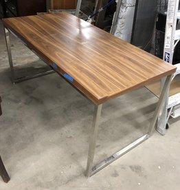Silver Legged Office Tables
