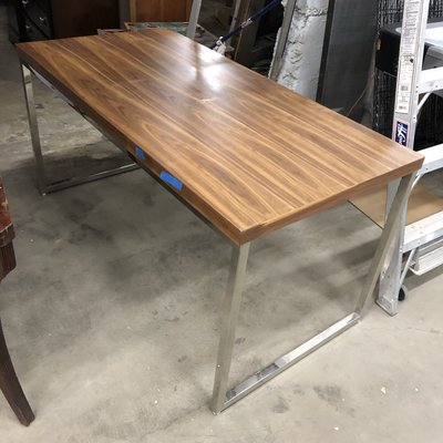 Silver Legged Office Tables
