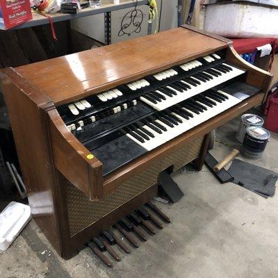 Vintage Electrical Organ
