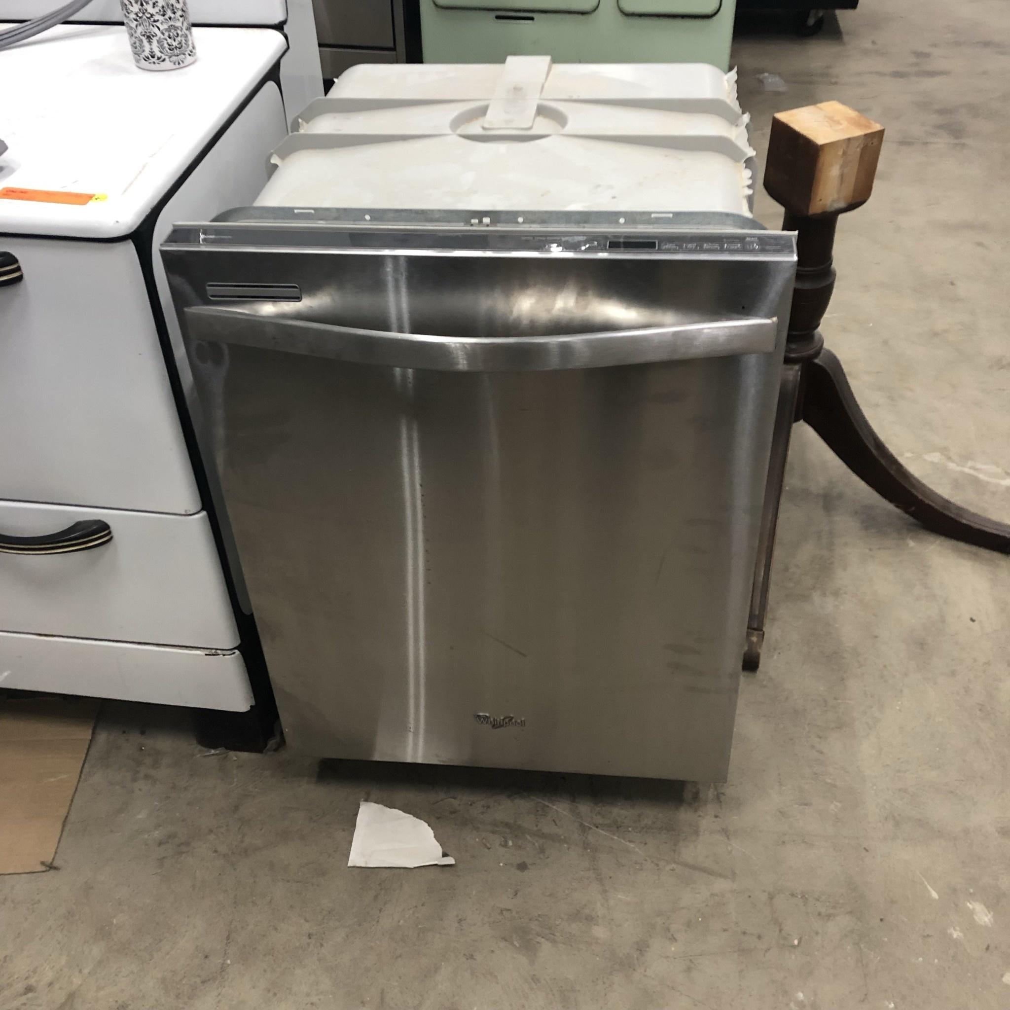 Whirlpool Gold Series Stainless Steel Dishwasher Big Reuse