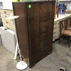 Vintage Oak Wardrobe/Dresser